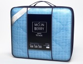 Одело Svit Moonberry Лебяжий пух, чехол поплин, зимнее 1,5-спальное 145х205 см