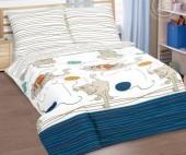 Детское постельное белье АртПостель МЯГКИЕ ЛАПКИ поплин 1,5-спальное 70х70 см