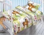 Детское постельное белье Valtery поплин бэби 40х60 см НА ЛУГУ