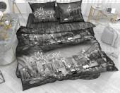 Постельное белье Svit бязь ГОСТ 1,5-спальное 70х70 см арт.Нью-Йорк черный