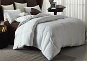 Одеяло Valtery гагачий пух 100% в сатине, теплое 2-спальное