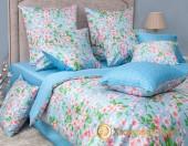 Постельное белье Хлопковый Край Роскошный ОКИНАВА-4 сатин 1,5-спальное 70х70 см