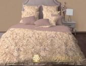 Постельное белье Хлопковый Край Роскошный ОКИНАВА ТАУП-5 сатин 1,5-спальное 70х70 см