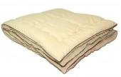Одеяло ПИЛЛОУ Овечья шерсть микрофайбер теплое 1,5-спальное 140х205 см