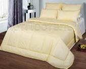 Одеяло из овечьей шерсти АртПостель Овечья шерсть в тике облегченное евро 200х215 см