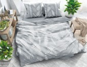 Постельное белье Svit New Line бязь ГОСТ 1,5-спальное 70х70 см арт.018-9 Папоротник серый