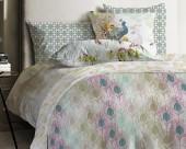 Постельное белье Mona Liza Japanese ранфорс 2-спальный 70х70 арт.Feathers