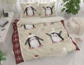Постельное белье Svit New Line бязь ГОСТ 1,5-спальное 70х70 см арт.Пингвинята