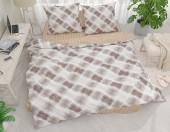 Постельное белье Svit New Line бязь ГОСТ 2-спальное 70х70 см арт.Плетеный коричневый