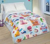 Детское постельное белье АртПостель ПЛЮШЕВЫЙ МИР поплин 1,5-спальное 70х70 см