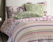Постельное белье Mona Liza Japanese ранфорс 1,5-спальный 70х70 арт.Stripe