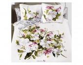 Постельное белье Mona Liza SL Secret Gardens сатин панно 2-спальный 4 наволочки арт.Magnolia 5658/8