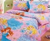 """Детское постельное белье Нордтекс """"Принцесса"""" ранфорс 1,5-спальное"""