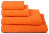 Полотенце махровое Cleanelly Радуга хлопок 50х90 см цв.Оранжевый