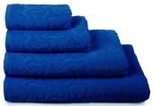 Полотенце махровое Cleanelly Радуга хлопок 50х90 см цв.Синий