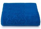 Махровая простыня Cleanelly Радуга Синий хлопок 150х200 см