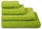 Полотенце махровое Cleanelly Радуга хлопок 50х90 см цв.Зеленый