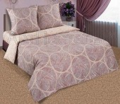 Постельное белье с простыней на резинке АртПостель РАФАЭЛЬ поплин 2-спальное 70х70 см