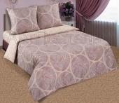 Постельное белье с простыней на резинке АртПостель РАФАЭЛЬ поплин 2-спальное70х70 см