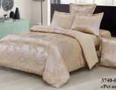Постельное белье VERSAILLES сатин-жаккард 2-спальное 70х70 см арт.207.20.40SG рис.3740-05 Реган