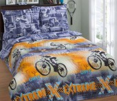 Детское постельное белье АртПостель РЕКОРД поплин 1,5-спальное 70х70 см