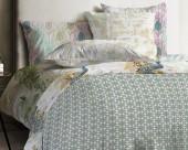 Постельное белье Mona Liza Japanese ранфорс 1,5-спальный 70х70 арт.Lattice
