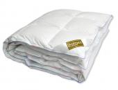 Одеяло Dargez РИВЬЕРА пух Экстра белый, батист теплое 1,5-спальное 140х205 см