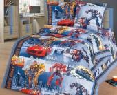 Детское постельное белье Svit бязь ГОСТ 1,5-спальное 70х70 см РОБОТЫ