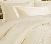 Постельное белье Mona Liza Royal РОЗА МИЛКИ-04 жаккард 2-спальное 4 наволочки
