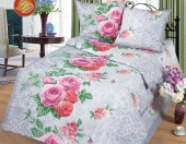 Постельное белье Svit Прима простыня на резинке бязь ГОСТ 1,5-спальное 70х70 см арт.Розалия