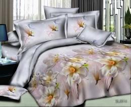Постельное белье Орхидея Бамбук полисатин 1,5-спальное 70х70 см арт. РТ014
