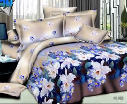 Постельное белье Орхидея Бамбук полисатин 1,5-спальное 70х70 см арт. РТ0102