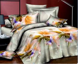 Постельное белье Орхидея Бамбук полисатин 1,5-спальное 70х70 см арт. РТ0180