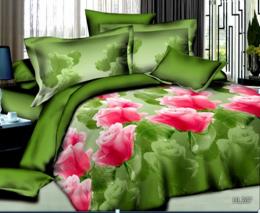 Постельное белье Орхидея Бамбук полисатин 1,5-спальное 70х70 см арт. РТ0267