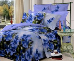Постельное белье Орхидея Бамбук полисатин 1,5-спальное 70х70 см арт. РТ0268