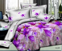 Постельное белье Орхидея Бамбук полисатин 1,5-спальное 70х70 см арт. РТ0297