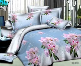 Постельное белье Орхидея Бамбук полисатин 1,5-спальное 70х70 см арт. РТ0551