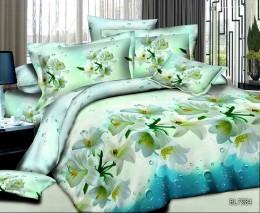 Постельное белье Орхидея Бамбук полисатин 1,5-спальное 70х70 см арт. РТ0984