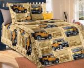 Детское постельное белье Svit бязь ГОСТ 1,5-спальное 70х70 см САФАРИ