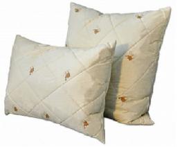 Подушка Dargez САХАРА, высокая, вербл. шерсть, перкаль 50х70