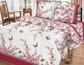 Постельное белье Svit Прима простыня на резинке бязь ГОСТ 1,5-спальное 70х70 см арт.Сакура