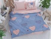 Постельное белье Svit бязь ГОСТ 1,5-спальное 70х70 см арт.Сердца Love