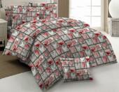 Постельное белье Svit бязь ГОСТ 1,5-спальное 70х70 см арт.Сердца