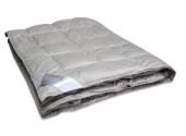 Одеяло Dargez СЕРЕБРЯННАЯ НИТЬ пух Экстра сатин теплое 1,5-спальное 140х205 см