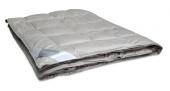 Одеяло Dargez СЕРЕБРЯННАЯ НИТЬ пух Экстра сатин легкое 1,5-спальное 140х205 см