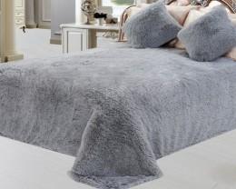 Чехол для углового дивана DO&CO БОЛЬШОЙ РАЗМЕР серый