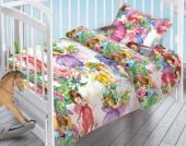 Детское постельное белье Valtery поплин бэби 40х60 см СКАЗОЧНЫЕ ФЕИ