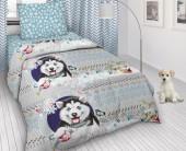 Детское постельное белье Svit бязь ГОСТ 1,5-спальное 70х70 см СНЕЖОК