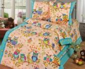 Детское постельное белье Svit бязь ГОСТ 1,5-спальное 70х70 см СОВУШКИ