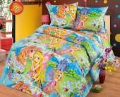 Детское постельное белье Svit бязь ГОСТ 1,5-спальное 70х70 см СТРАНА ЧУДЕС